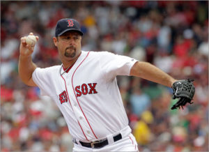 Not a Tim Wakefield knuckleball, it's a fastball!